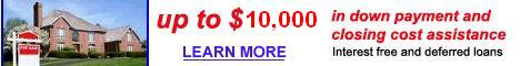 Up to $10,000 in down payment assistance mn