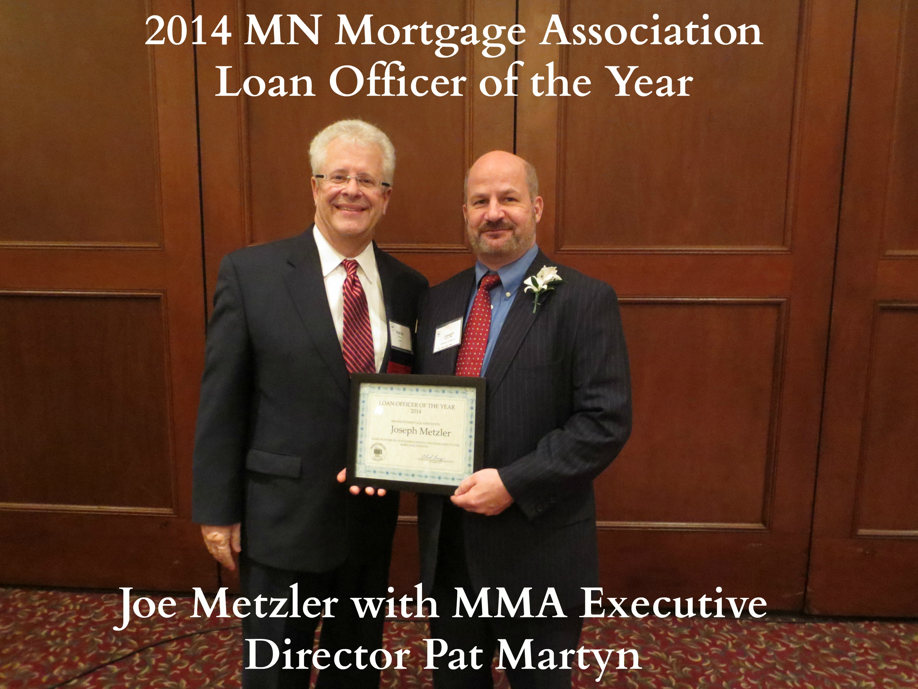 MN 2014 Mortgage Loan Officer of the Year