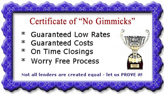 As an E-Mortgage Lender, we offer a No Surprises Satisfaction Guarantee