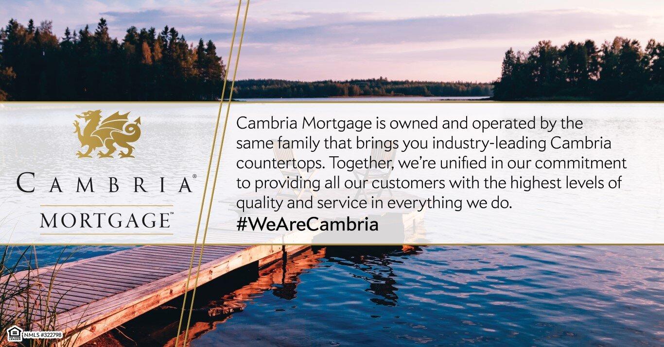 Cambria Mortgage and Cambria Countertops