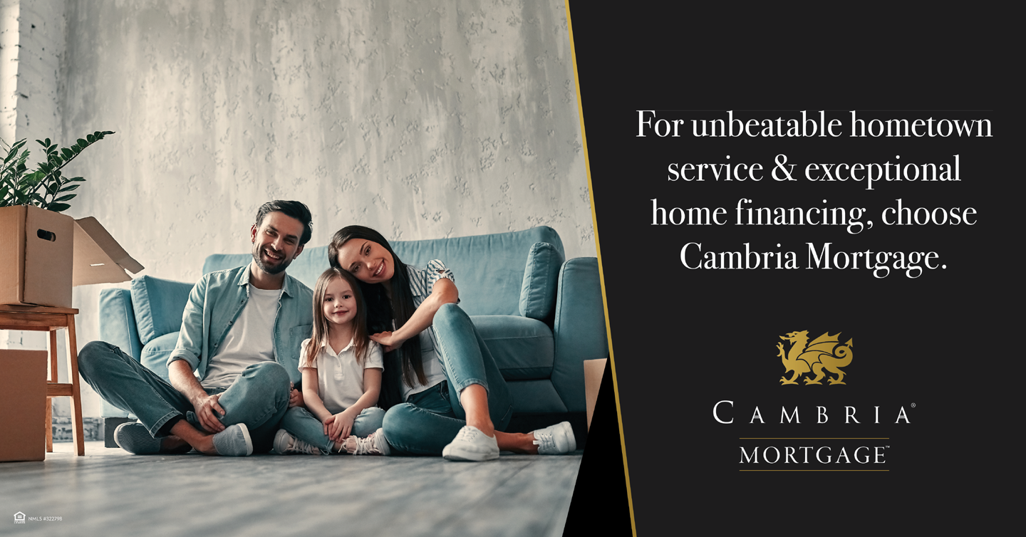 Cambria Mortgage, the Joe Metzler Team. Home loans in MInnesota Wisconsin Iowa North Dakota South Dakota. First time home buyers, down payment assistance, va loan, usda loan,