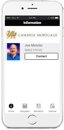 Cambria Mortgage App