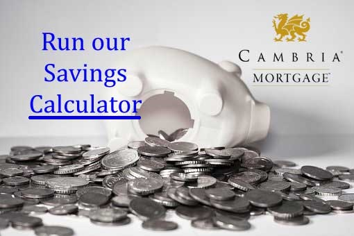 Refinance savings calculator