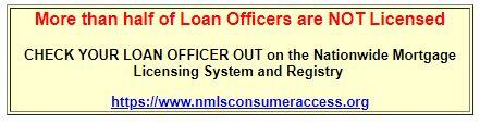 NMLS Consumer Access Link