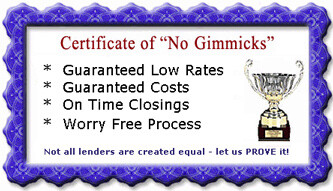 no mortgage loan gimmicks